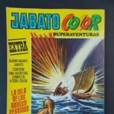 """Tebeos: JABATO COLOR EXTRA - 2ª EPOCA Nº 38, """"LA ISLA DE LOS BARCOS PERDIDOS"""", ALBUM AMARILLO, 1977 ...L2085. Lote 219818196"""
