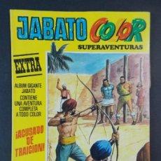 """Tebeos: JABATO COLOR EXTRA - 2ª EPOCA Nº 39, """"¡ACUSADO DE TRAICIÓN!"""", ALBUM AMARILLO, 1977 ...L2086. Lote 219818350"""