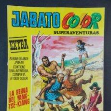 "Tebeos: JABATO COLOR EXTRA - 2ª EPOCA Nº 40, ""LA REINA DEL YANGTSE-KIANG"", ALBUM AMARILLO, 1977 ...L2087. Lote 219818503"