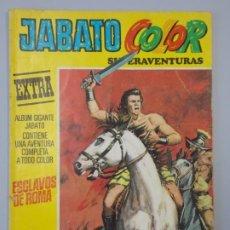 "Tebeos: JABATO COLOR EXTRA - 3ª EPOCA Nº 1, ""ESCLAVOS DE ROMA"", ALBUM AMARILLO, 1978 ...L2088. Lote 219822120"