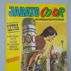 """Tebeos: JABATO COLOR EXTRA - 3ª EPOCA Nº 2, """"PRISIONERO"""", ALBUM AMARILLO, 1978 ...L2089. Lote 219822305"""