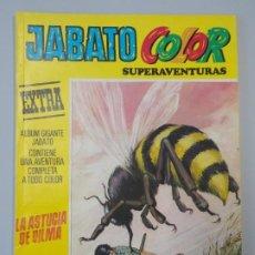 """Tebeos: JABATO COLOR EXTRA - 3ª EPOCA Nº 5, """"LA ASTUCIA DE DILMA"""", ALBUM AMARILLO, 1978 ...L2092. Lote 219822871"""