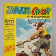 """Tebeos: JABATO COLOR EXTRA - 3ª EPOCA Nº 8, """"EL SIGNO DE LA PANTERA"""", ALBUM AMARILLO, 1978 ...L2094. Lote 219824841"""