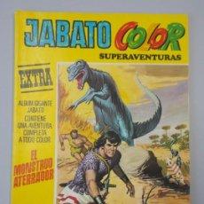 """Tebeos: JABATO COLOR EXTRA - 3ª EPOCA Nº 10, """"EL MONSTRUO ATERRADOR """", ALBUM AMARILLO, 1978 ...L2095. Lote 219825155"""