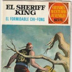 Tebeos: EL FORMIDABLE CHI FONG Nº 26. PRIMERA EDICIÓN. SHERIFF KING. GRANDES AVENTURAS JUVENILES.BRUGUERA. Lote 219832238