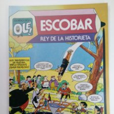Livros de Banda Desenhada: OLÉ! - ESCOBAR REY DE LA HISTORIETA - Nº295 NUEVO DE DISTRIBUIDORA. Lote 220010071
