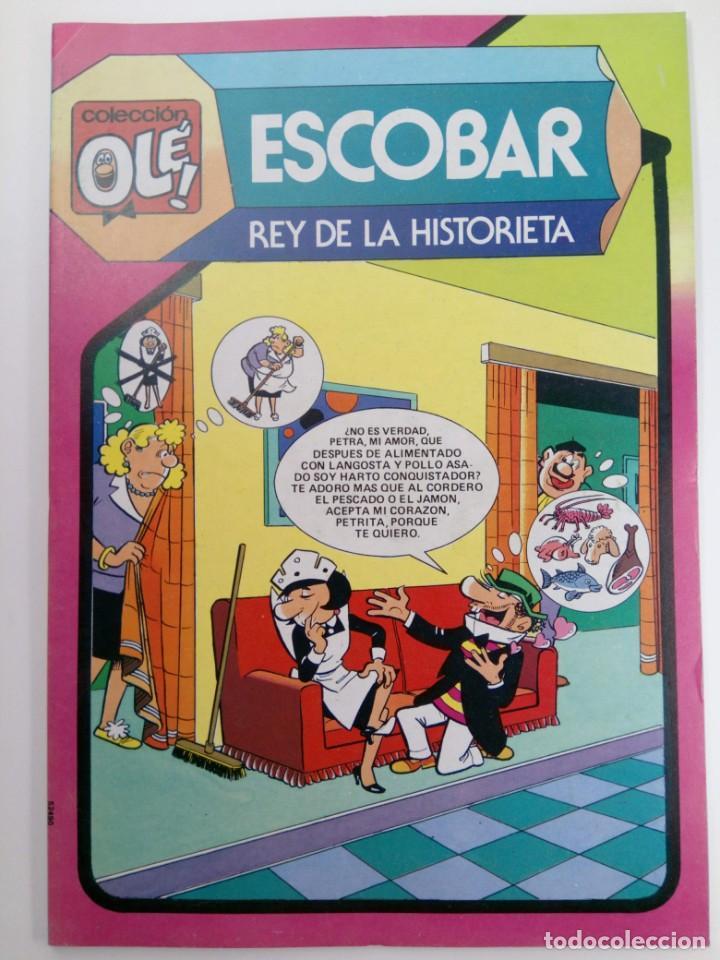 OLÉ! - ESCOBAR REY DE LA HISTORIETA - Nº297 NUEVO DE DISTRIBUIDORA (Tebeos y Comics - Bruguera - Ole)