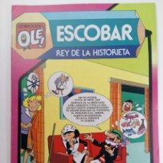 Tebeos: OLÉ! - ESCOBAR REY DE LA HISTORIETA - Nº297 NUEVO DE DISTRIBUIDORA. Lote 220011706