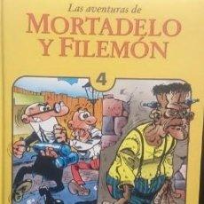 Tebeos: LAS AVENTURAS DE MORTADELO Y FILEMÓN. TOMO 4. EDICIONES B. PRIMERA EDICIÓN 1994. Lote 220087761