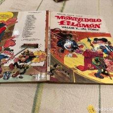Giornalini: ASES DEL HUMOR Nº4:VALOR Y AL TORO - MORTADELO Y FILEMON. 2º EDICION - EDITORIAL BRUGUERA 1979. Lote 220173582