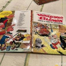 Giornalini: ASES DEL HUMOR Nº2:CONTRA EL GANG DEL CHICHARRON - MORTADELO 2º EDICION - EDITORIAL BRUGUERA 1979. Lote 220174055
