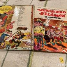 Giornalini: ASES DEL HUMOR Nº28:EL ANTIDOTO - MORTADELO Y FILEMON 1º EDICION - EDITORIAL BRUGUERA 1974. Lote 220174815