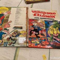 Giornalini: ASES DEL HUMOR Nº25:LOS MONSTRUOS - MORTADELO Y FILEMON 1º EDICION - EDITORIAL BRUGUERA 1973. Lote 220175455