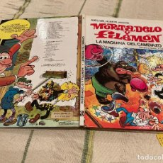 Giornalini: ASES DEL HUMOR Nº9 LA MAQUINA DEL CAMBIAZ MORTADELO Y FILEMON - 2º EDICION - EDITORIAL BRUGUERA 1979. Lote 220185151