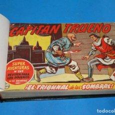 Tebeos: EL CAPITAN TRUENO. LOTE DE 57 NÚMEROS DEL 173 AL 230. ED. BRUGUERA. Lote 220278390