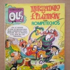 Tebeos: COLECCIÓN OLÉ! N°285 MORTADELO Y FILEMÓN CON ROMPETECHOS: PESCADORES DE EMBROLLOS (BRUGUERA, 1984).. Lote 220386792