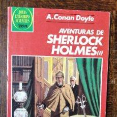 Tebeos: AVENTURAS DE SHERLOCK HOLMES I, A. CONA DOYLE- JOYAS LITERARIAS JUVENILES Nº 266- BRUGUERA. Lote 220407513