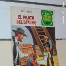 Tebeos: EL PILOTO DEL DANUBIO JULIO VERNE JOYAS LITERARIAS JUVENILES Nº 213 - BRUGUERA. Lote 220414522