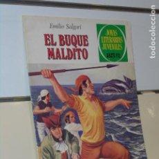 Tebeos: EL BUQUE MALDITO EMILIO SALGARI JOYAS LITERARIAS JUVENILES Nº 226 - BRUGUERA. Lote 220414861