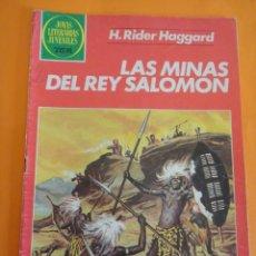 Tebeos: JOYAS LITERARIAS JUVENILES Nº 156: LAS MINAS DEL REY SALOMÓN . 3A BRUGUERA 1982 .. Lote 220453561