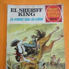 Tebeos: SHERIFF KING.Nº 34 UN HOMBRE ROBA UN CAÑON .1972 BRUGUERA . GRANDES AVENTURAS JUVENILES .. Lote 220454701