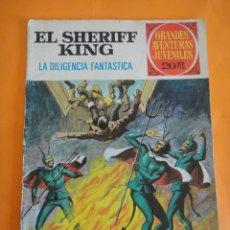 Tebeos: SHERIFF KING.Nº 64 LA DILIGENCIA FANTASTICA .1975 BRUGUERA . GRANDES AVENTURAS JUVENILES .. Lote 220455265