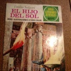 Tebeos: COMIC DE JOYAS LITERARIAS JUVENILES EL HIJO DEL SOL AÑO 1973 Nº 83. Lote 220502580
