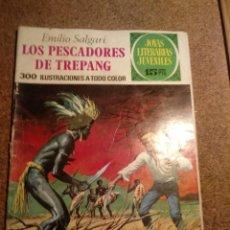 Tebeos: COMIC DE JOYAS LITERARIAS JUVENILES LOS PESCADORES DE TREPANG AÑO 1973 Nº 85. Lote 220502916