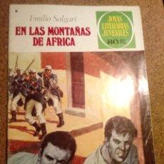 Tebeos: COMIC DE JOYAS LITERARIAS JUVENILES EN LAS MONTAÑAS DE ÁFRICA AÑO 1977 Nº 181. Lote 220508483