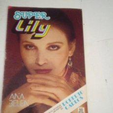 Tebeos: SUPER LILY - AÑO XVIII - NUMERO 52 - BUEN ESTADO - CON POSTER - ED BRUGUERA - CJ 123 - GORBAUD. Lote 220511842