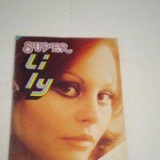 Tebeos: SUPER LILY - AÑO XVII - NUMERO 42- CON POSTER - ED BRUGUERA - CJ 123 - GORBAUD. Lote 220516968