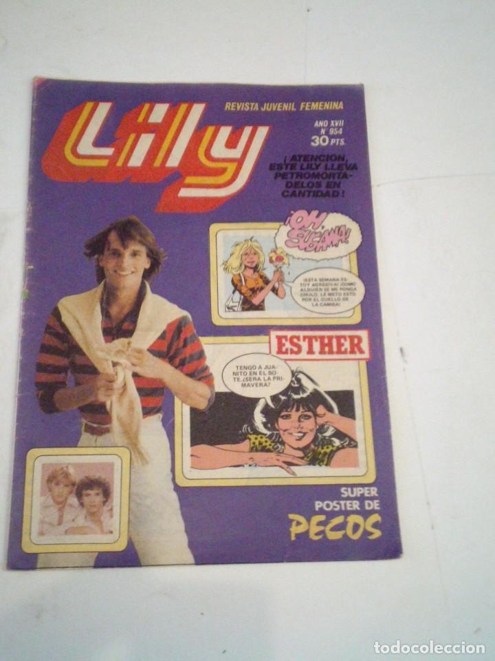 LILY - AÑO XVII - NUMERO 954 - CON POSTER - BUEN ESTADO - ED BRUGUERA - CJ 123 - GORBAUD (Tebeos y Comics - Bruguera - Lily)