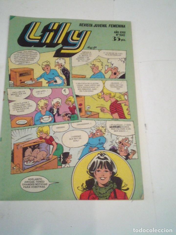 LILY - AÑO XVIII - NUMERO 1042 - ED BRUGUERA - CJ 123 - GORBAUD (Tebeos y Comics - Bruguera - Lily)