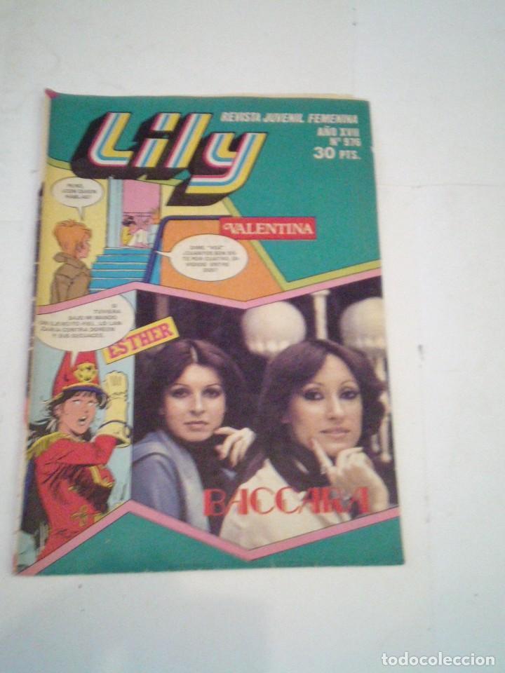 LILY - AÑO XVII - NUMERO 976 - CON POSTER - BUEN ESTADO - ED BRUGUERA - CJ 123 - GORBAUD (Tebeos y Comics - Bruguera - Lily)