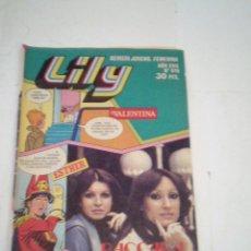 Tebeos: LILY - AÑO XVII - NUMERO 976 - CON POSTER - BUEN ESTADO - ED BRUGUERA - CJ 123 - GORBAUD. Lote 220519175