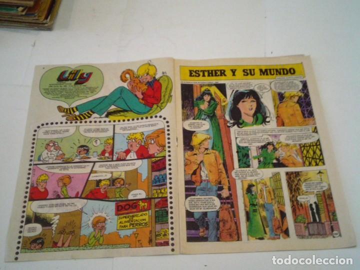 Tebeos: LILY - AÑO XVII - NUMERO 953 - CON POSTER DE MIGUEL BOSE - ED BRUGUERA - CJ 123 - GORBAUD - Foto 2 - 220519778