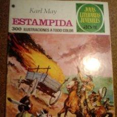 Tebeos: COMIC DE JOYAS LITERARIAS JUVENILES ESTAMPIDA AÑO 1978 Nº 144. Lote 220522950
