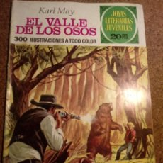 Tebeos: COMIC DE JOYAS LITERARIAS JUVENILES EL VALLE DE LOS OSOS AÑO 1975 Nº 141. Lote 220523150
