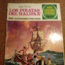 Tebeos: COMIC DE JOYAS LITERARIAS JUVENILES LOS PIRATAS DEL HALIFAX AÑO 1975 Nº 133. Lote 220523328
