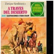 Tebeos: JOYAS LITERARIAS JUVENILES 22. BRUGUERA 1ª EDICIÓN 1971. MOSAICO / LABERINTO.. Lote 220524170