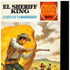 Tebeos: EL SHERIFF KING Nº 30. 1ª EDICIÓN, BRUGUERA,1972. DE 15 PTS. BUENO.. Lote 220525112