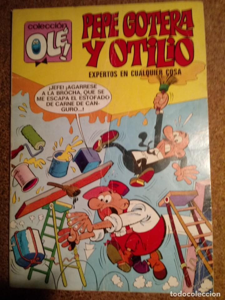 COMIC DE OLE PEPE GOTERA Y OTILIO EXPERTOS EN CUALQUIER COSA DEL AÑO 1982 Nº 78 (Tebeos y Comics - Bruguera - Ole)