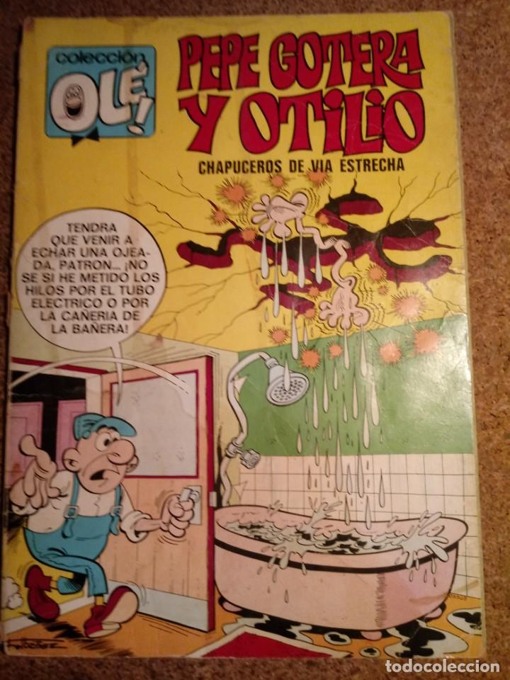 COMIC DE OLE PEPE GOTERA Y OTILIO CHAPUCEROS DE VIA ESTRECHA DEL AÑO 1981 Nº 22 (Tebeos y Comics - Bruguera - Ole)