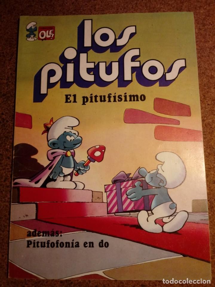 COMIC DE OLE LOS PITUFOS EN EL PITUFISIMO DEL AÑO 1982 Nº 3 (Tebeos y Comics - Bruguera - Ole)