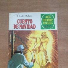 Tebeos: CUENTO DE NAVIDAD- CHARLES DICKENS. JOYAS LITERARIAS JUVENILES. Lote 220576250