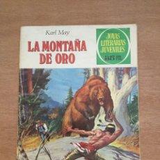 Tebeos: LA MONTAÑA DE ORO. KARL MAY. JOYAS LITERARIAS JUVENILES. Lote 220576636