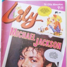 Tebeos: REVISTA TEBEO CÓMIC LILY Nº 1177 MICHAEL JACKSON CANDY CANDY BERJUSA DANONE BRUGUERA. Lote 220600658