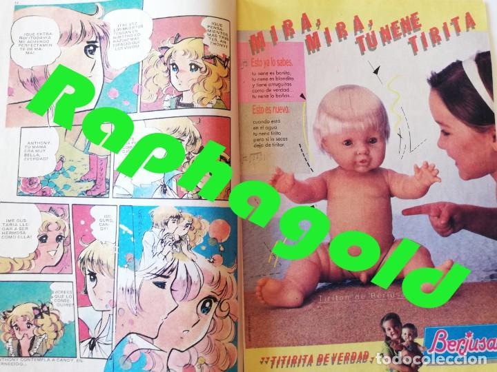 Tebeos: Revista Tebeo Cómic Lily nº 1177 Michael Jackson Candy Candy Berjusa Danone BRUGUERA - Foto 3 - 220600658