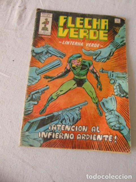 FLECHA VERDE MUNDI COMICS V1 - Nº7 (Tebeos y Comics - Bruguera - Cosaco Verde)