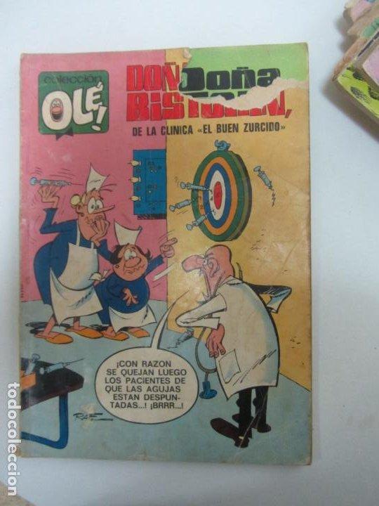 COLECCIÓN OLÉ Nº 63 DOÑA TECLA BISTURÍN BRUGUERA CON NÚMERO EN EL LOMO 40 PTAS BRUGUERA CX72 (Tebeos y Comics - Bruguera - Ole)